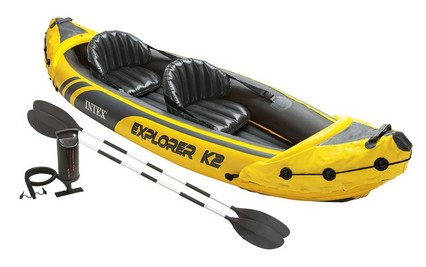 Intex Explorer K2 Kayak - 2-Person Inflatable Kayak Set