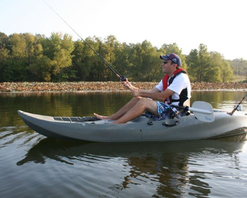 Lifetime Sport Fisher Single or Tandem Kayak on lake