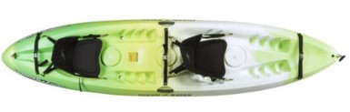 Ocean Kayak 12-Feet Malibu Top View