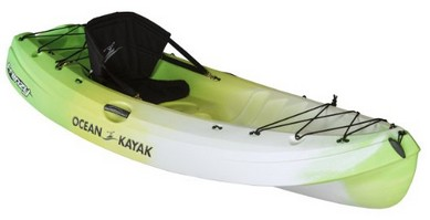 Ocean Kayak Frenzy Sit-On-Top Recreational Kayak Envy Green