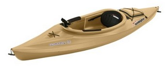 Sun Dolphin Excursion Sit-In Fishing Kayak - Sand