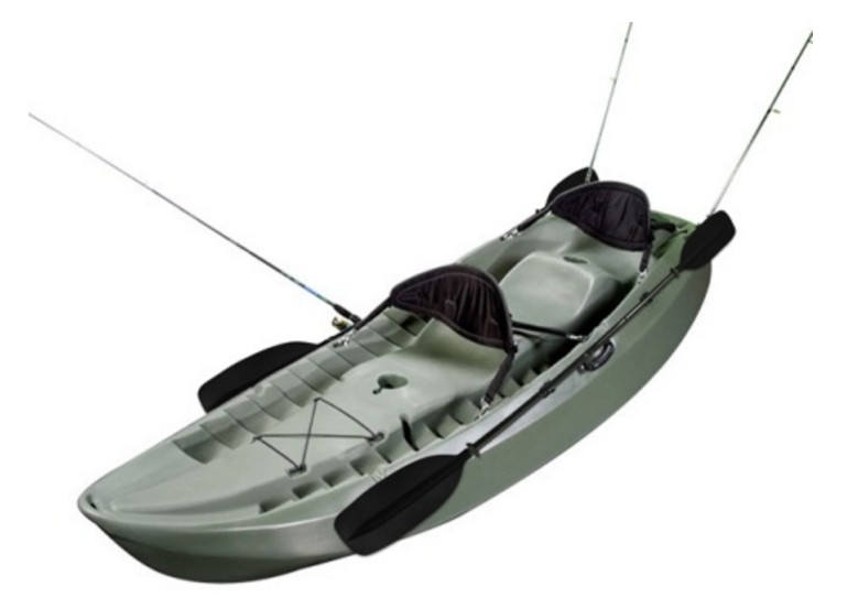 Lifetime Sport Fisher Tandem Kayak - Best Tandem Fishing Kayak