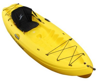Ocean Kayak Frenzy Sit-On-Top Recreational Kayak Yellow