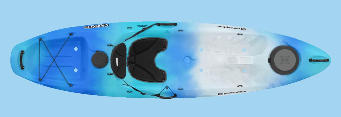 Perception R15 Pescadors 100 Kayak Seaspray