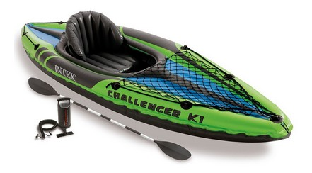 Intex Challenger K1 Kayak, Budget option for those wanting to try paddling out