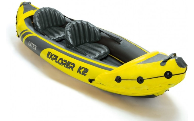 Intex Explorer K2 Kayak, 2-Person Inflatable Kayak Set - Best Tandem Kayak