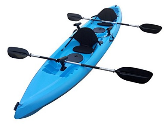 Useful UH-TK181 12.5 foot Sit On Top Tandem Fishing Kayak - Best Tandem Fishing Kayak