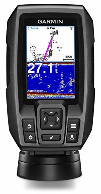●	Garmin 010-01550-00 Striker 4 Built-in GPS Fish Finder