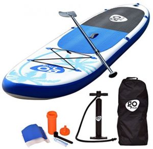 Goplus Inflatable Cruiser SUP Stand Up Paddle Board