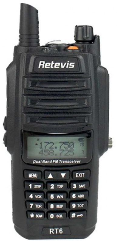 Retevis RT6 IP67 Waterproof and Dust proof Dual band Two Way Radio