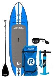 iRocker Inflatable ALL-AROUND Stand Up Paddle Board