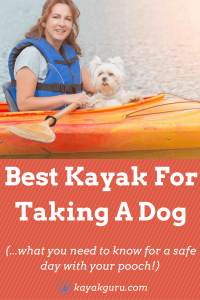 Best Kayak For A Dog Safely On The Water