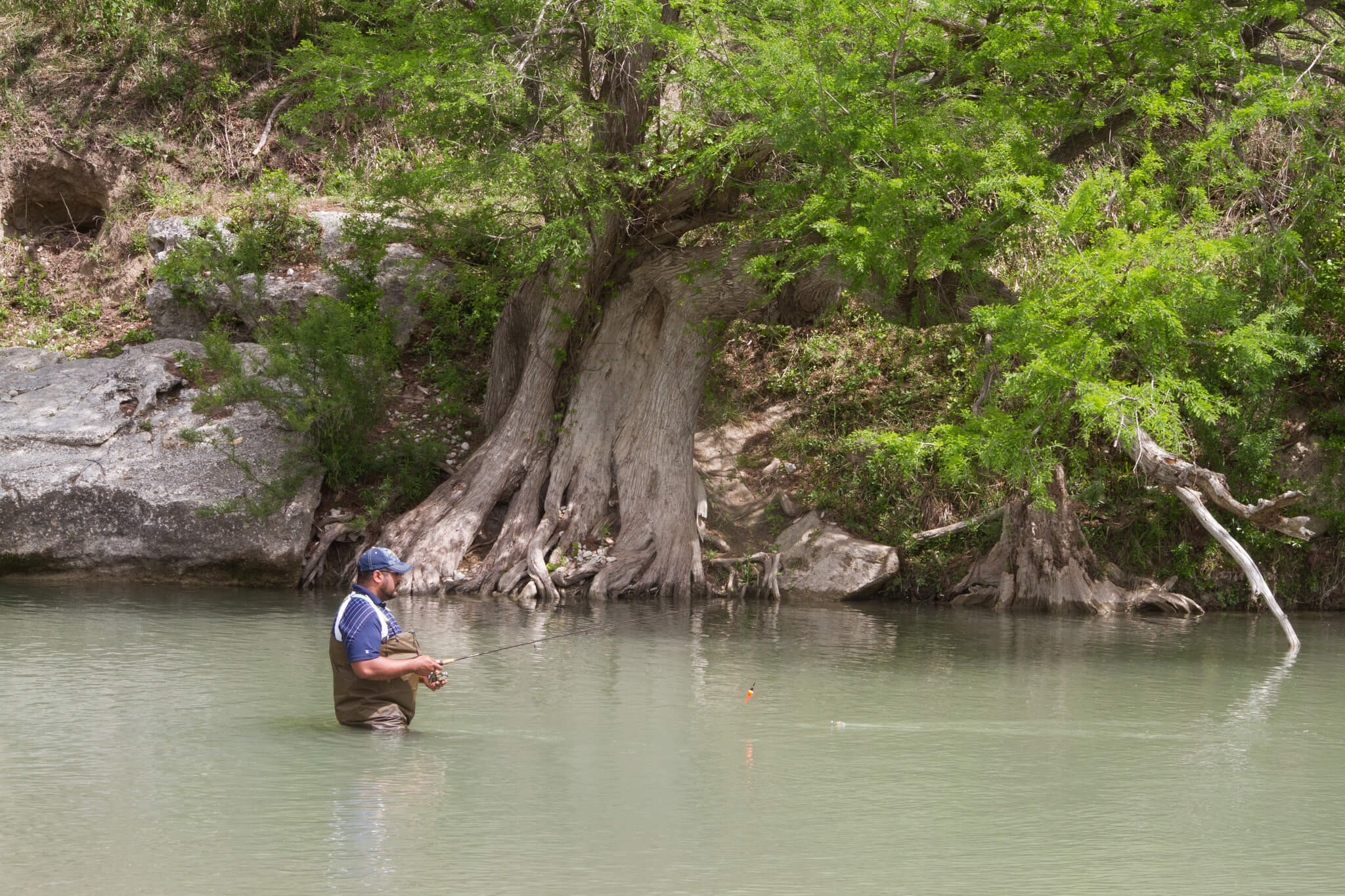 top fishing spots in texas catching trout bass on a tx