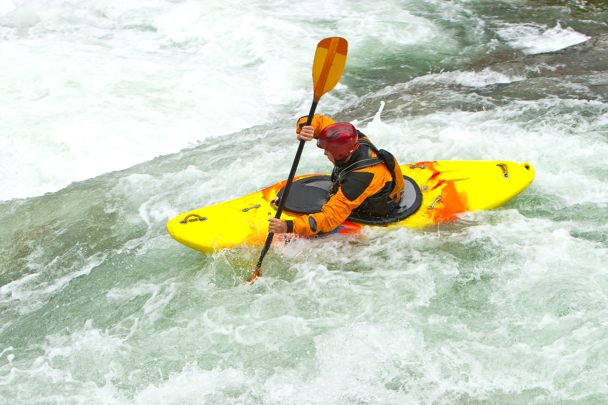 Kayaking In Rapids - classification of rapids