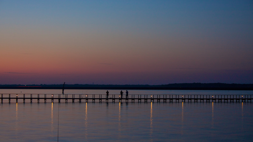Lake Fork Pier, Texas - Fishing Spots