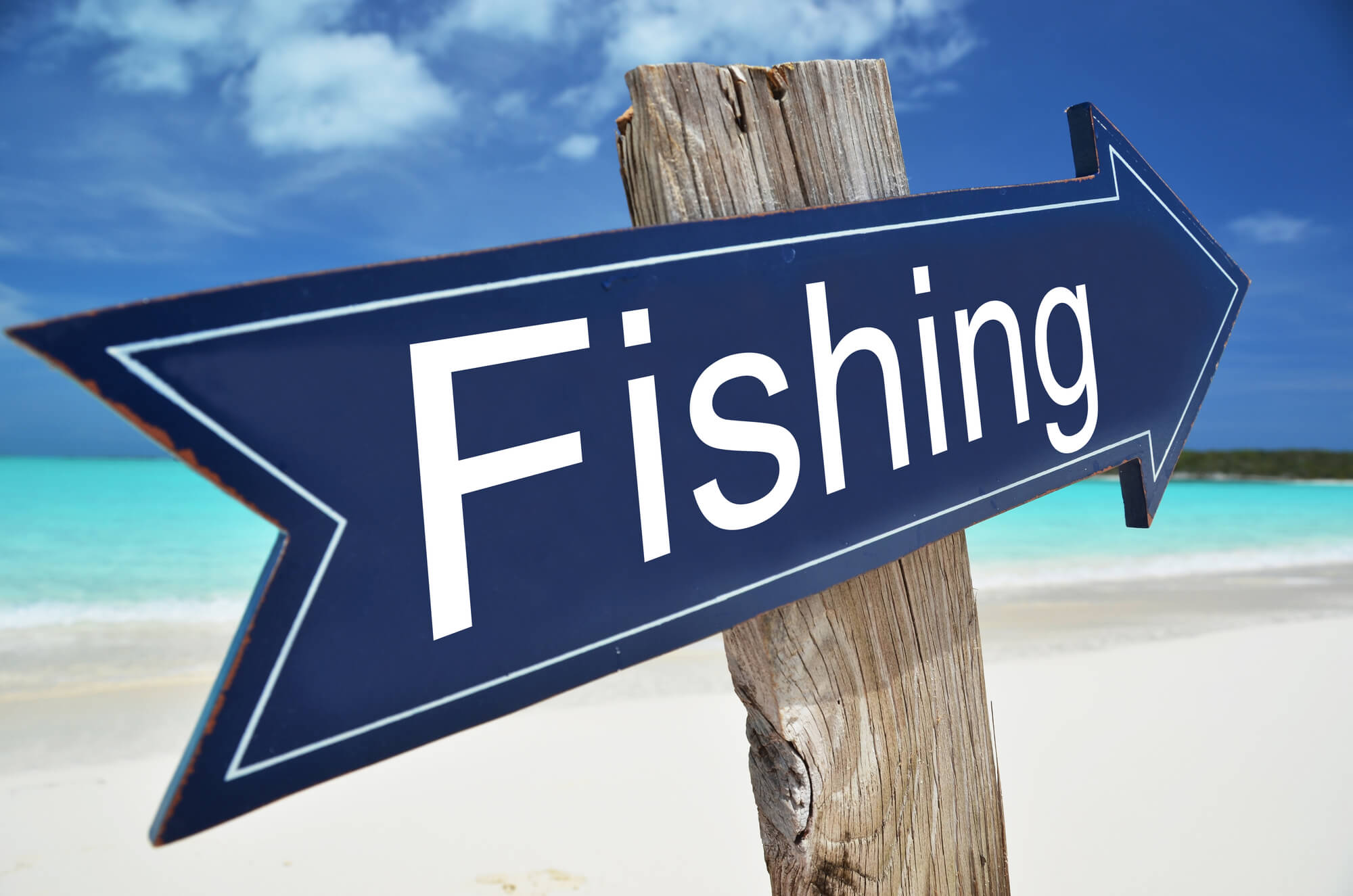 Fishing Sign - Guide