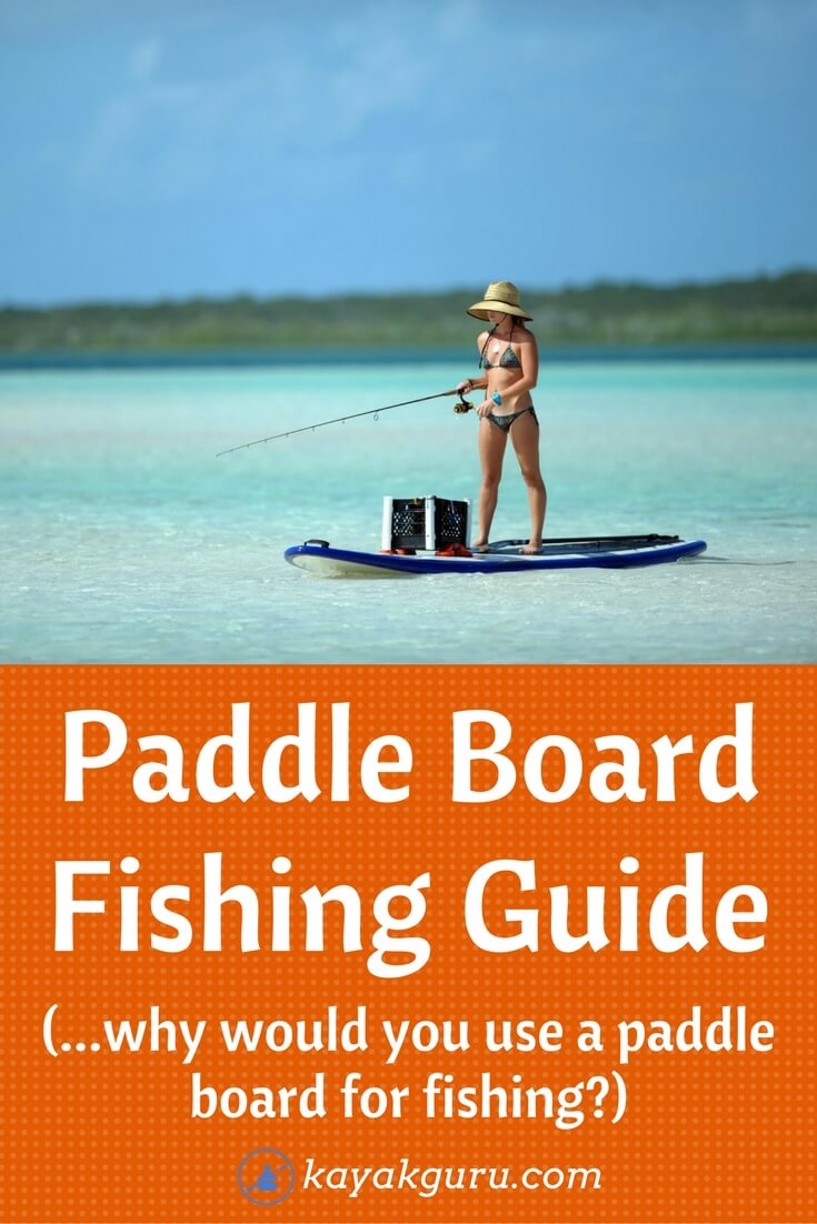 Guide To Fishing From A Paddle Board