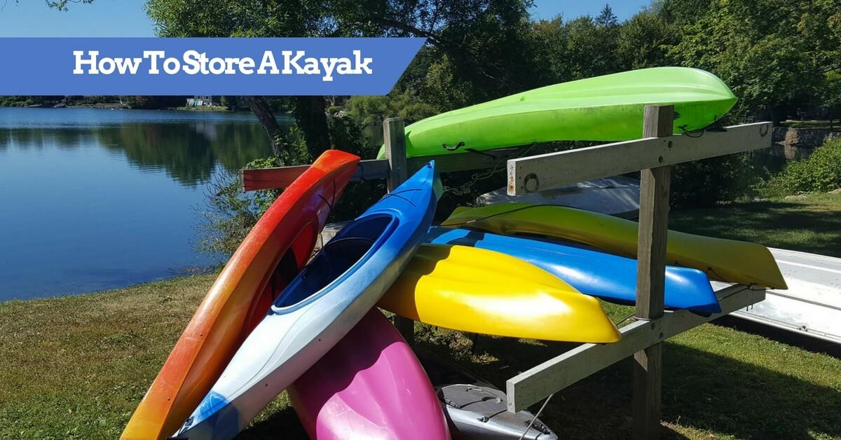 Diy kayak stand up bar