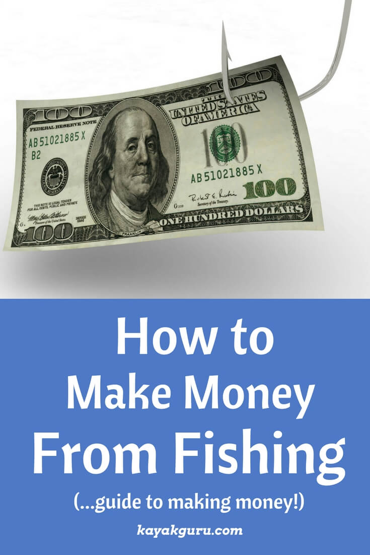 How to make money from fishing - Pinterest