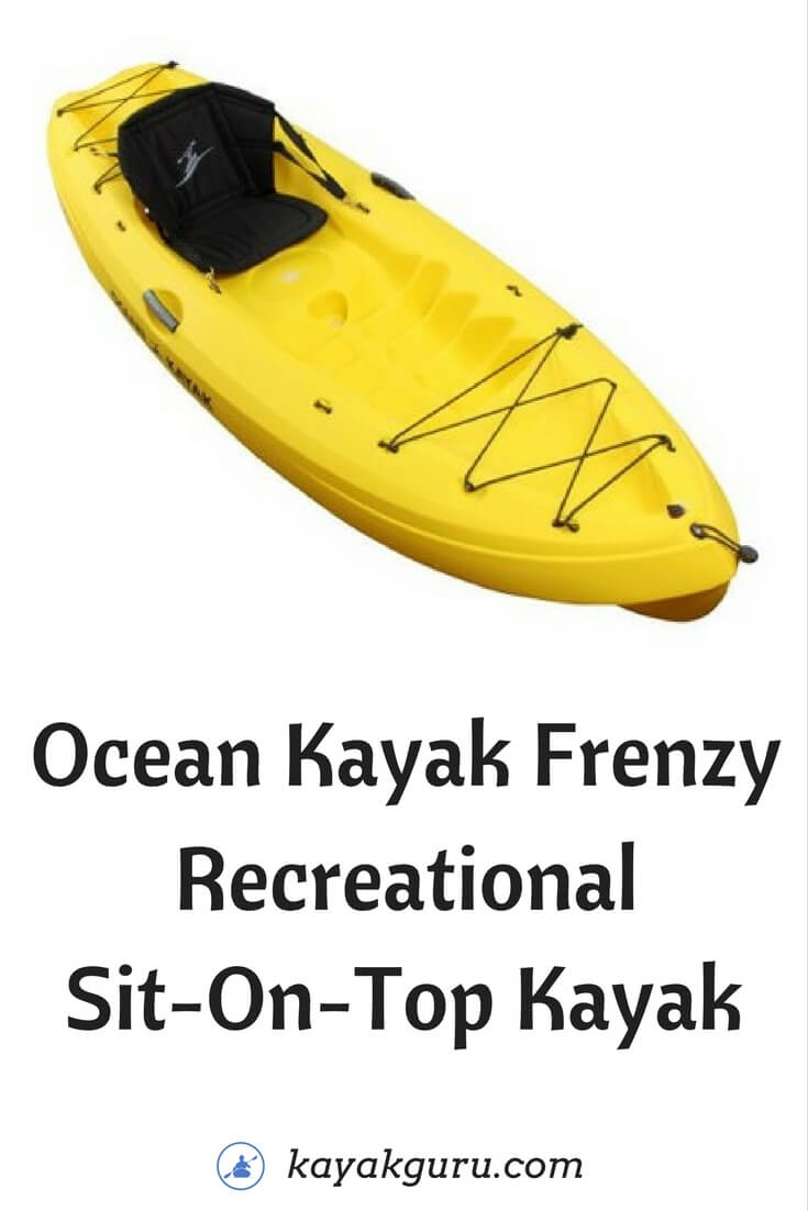 Ocean Kayak Frenzy Yellow Kayak Review