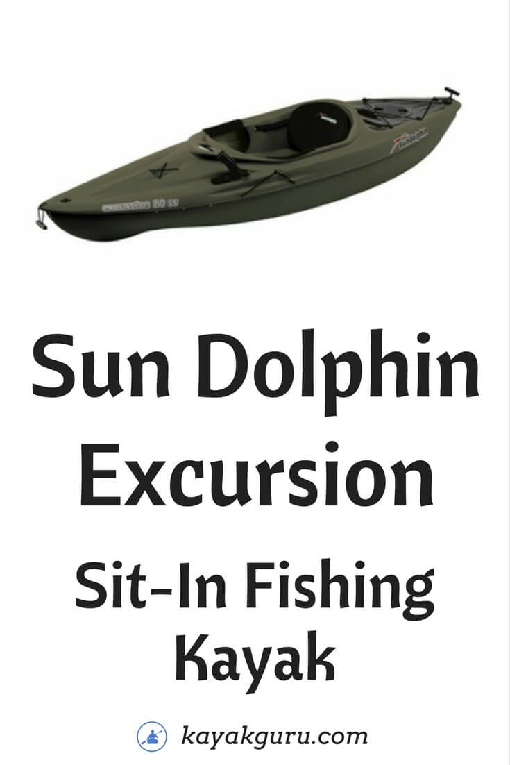 Sun Dolphin Excursion Sit-In Fishing Kayak