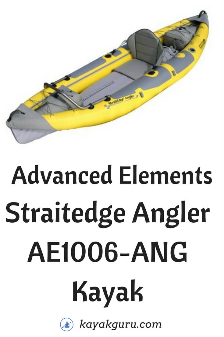 Advanced Elements Straitedge Angler AE1006-ANG Kayak - Pinterest