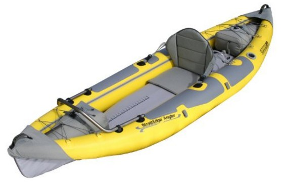Advanced Elements Straitedge Angler AE1006-ANG Kayak Inflatable Review