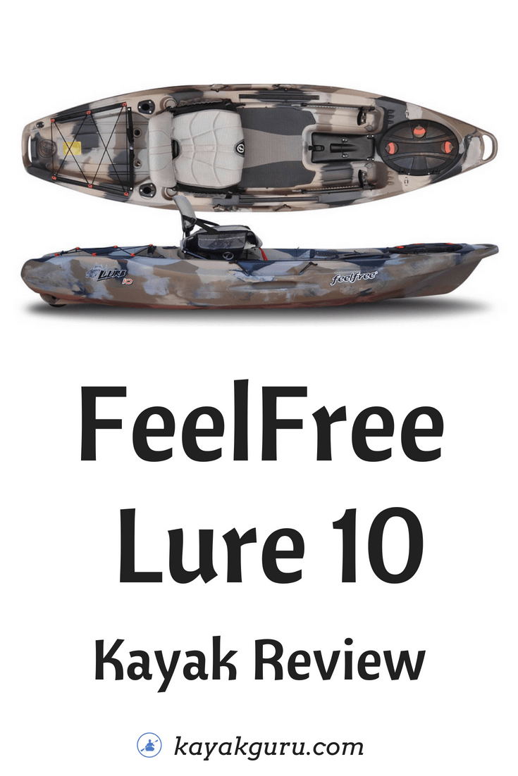 FeelFree Lure 10 Kayak Pinterest Image
