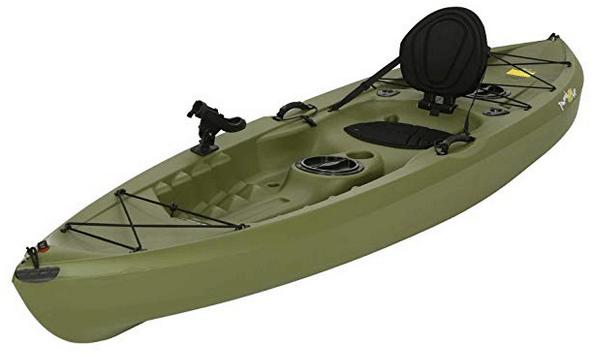 Lifetime Tamarack 120 Angler Kayak Review | A Good Fishing
