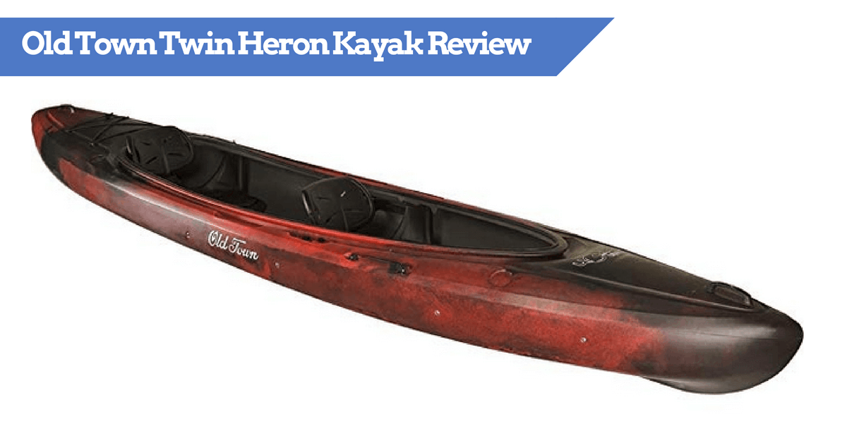 Old Town Twin Heron Tandem Kayak (Angler version too!) - Fully Reviewed