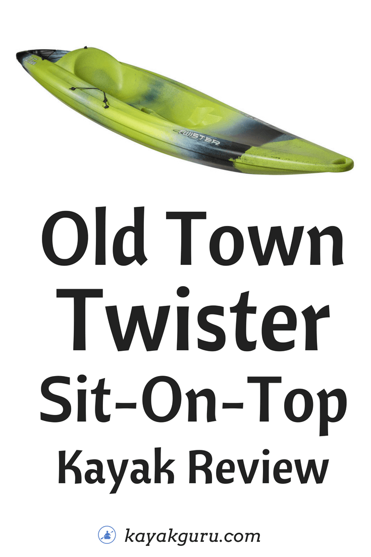 Old Town Twister Sit-On-Top Pinterest Image