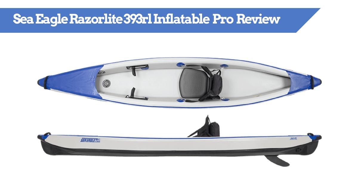 Sea Eagle Razorlite 393rl Inflatable Kayak Pro Solo Package