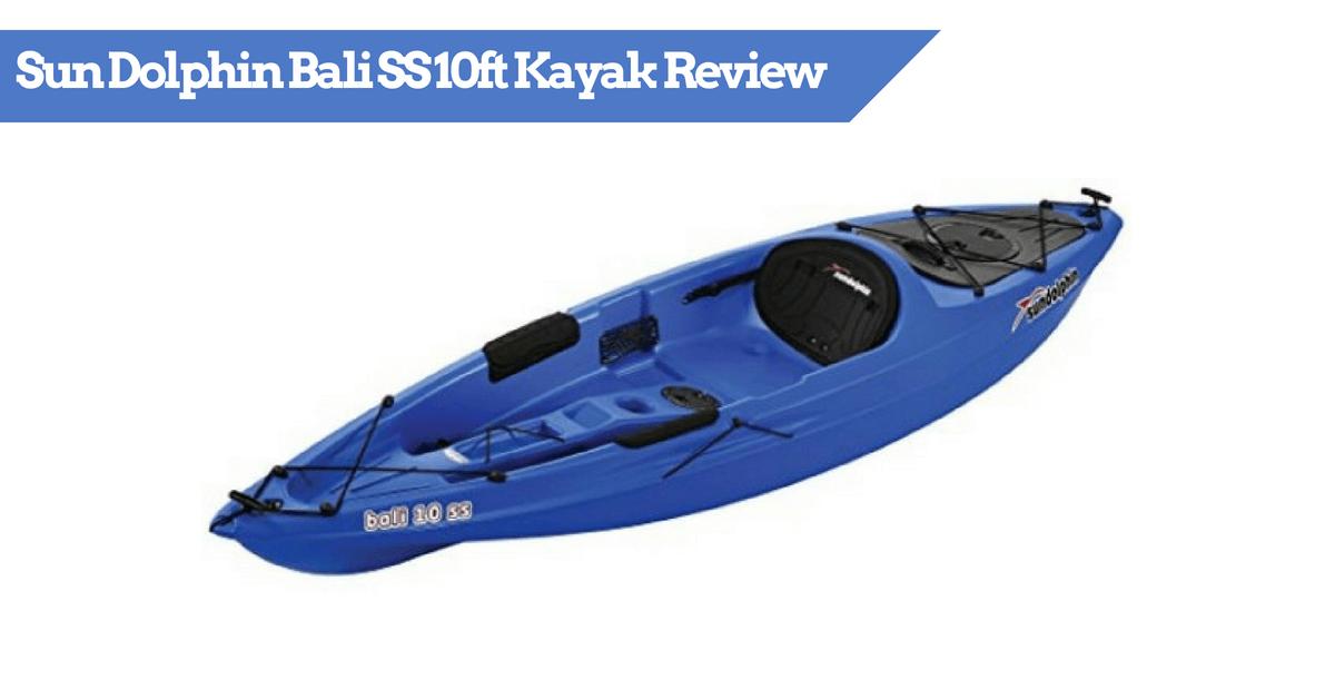Sun Dolphin Bali SS 10ft Kyak - Featured Image