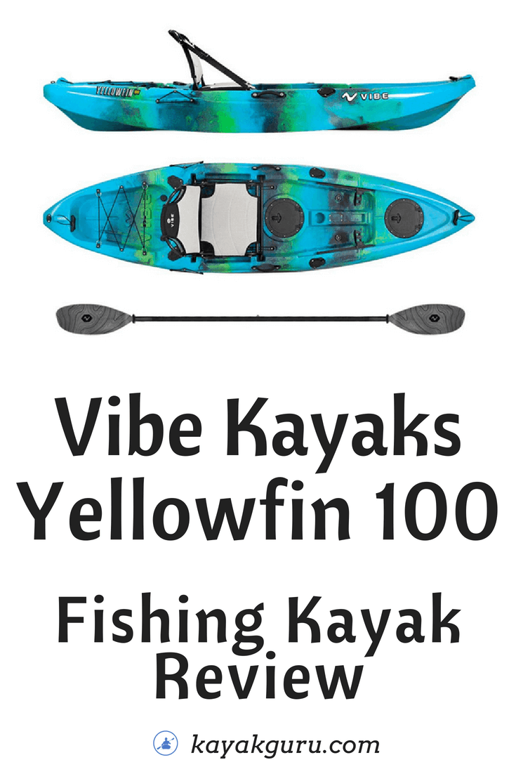 Vibe Yellowfin 100 - Pinterest Image