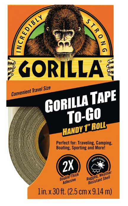 Gorilla Tape - For underwater kayaks canoes boating