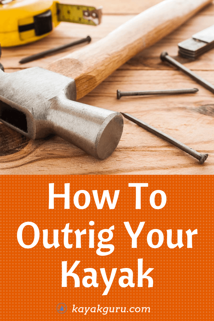Kayak Outriggers DIY Guide - Pinterest Image - Pontton Stabilizer