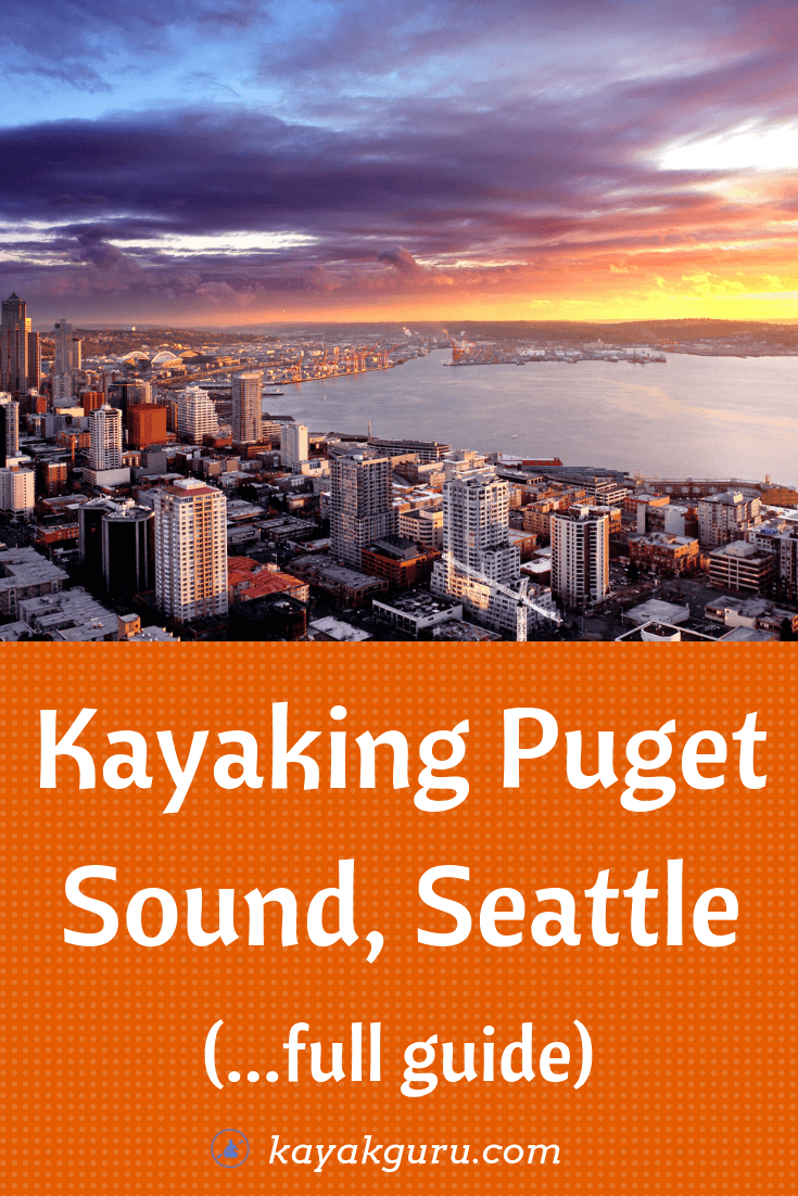 Kayak around Puget Sound, Seattle...includes Hope Island and San Juan Islands