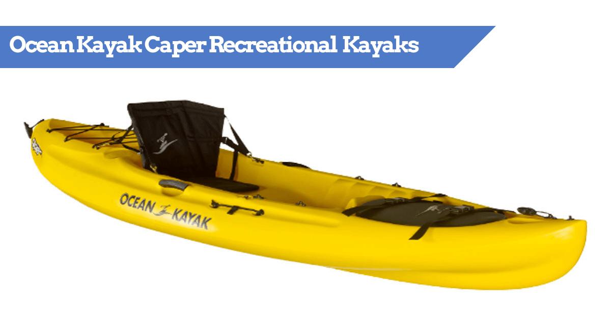 Ocean Kayak Caper Recreational (and Angler) Reviewed   KayakGuru com