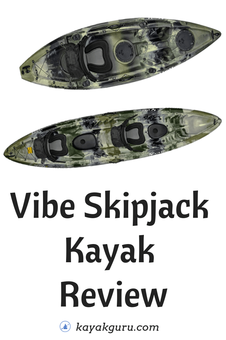 Vibe Skipjack 90 (and 120T) Kayak Review - Pinterest