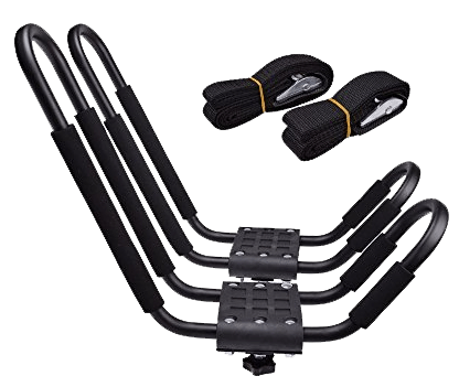 TMS J-Bar Rack HD Kayak Carrier