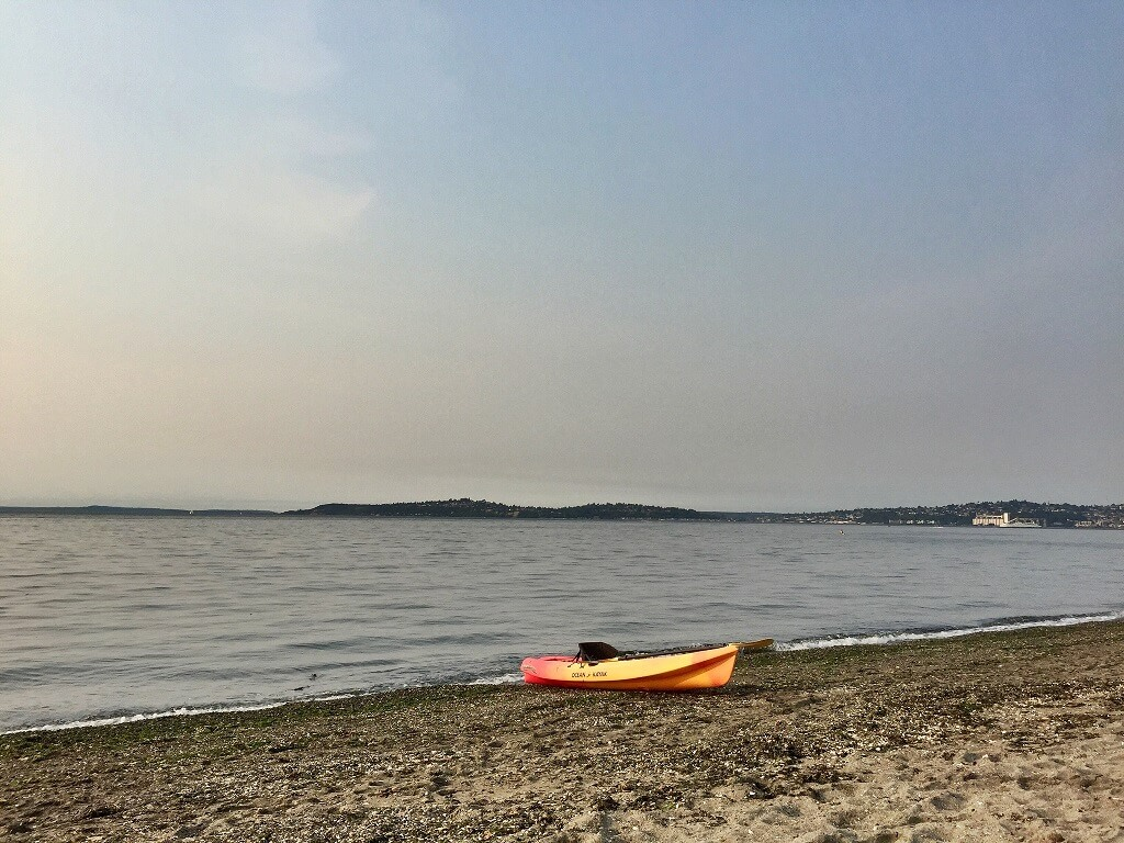 Alki Beack Washington - Kayaking and canoeing