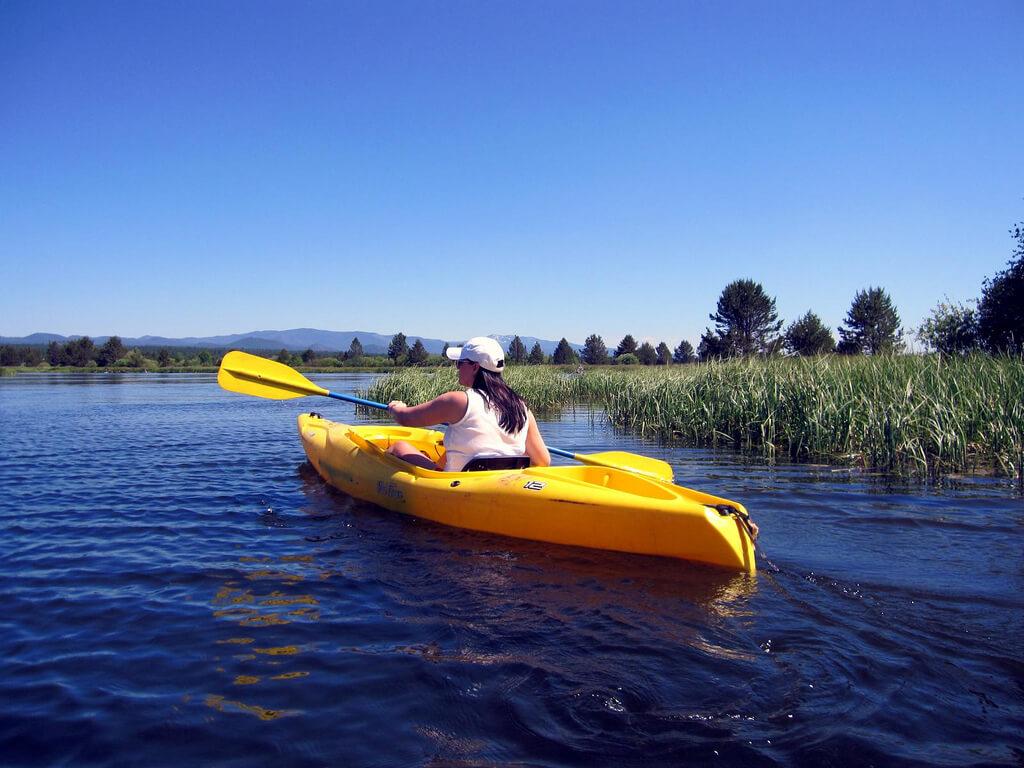 Deschutes River Kayaking - near Bend Oregon
