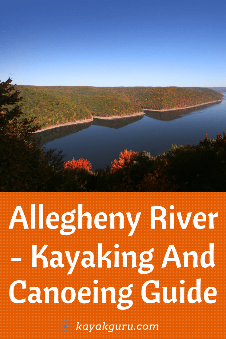 Allegheny River - Kayaking And Canoeing Guide - Pinterest Image