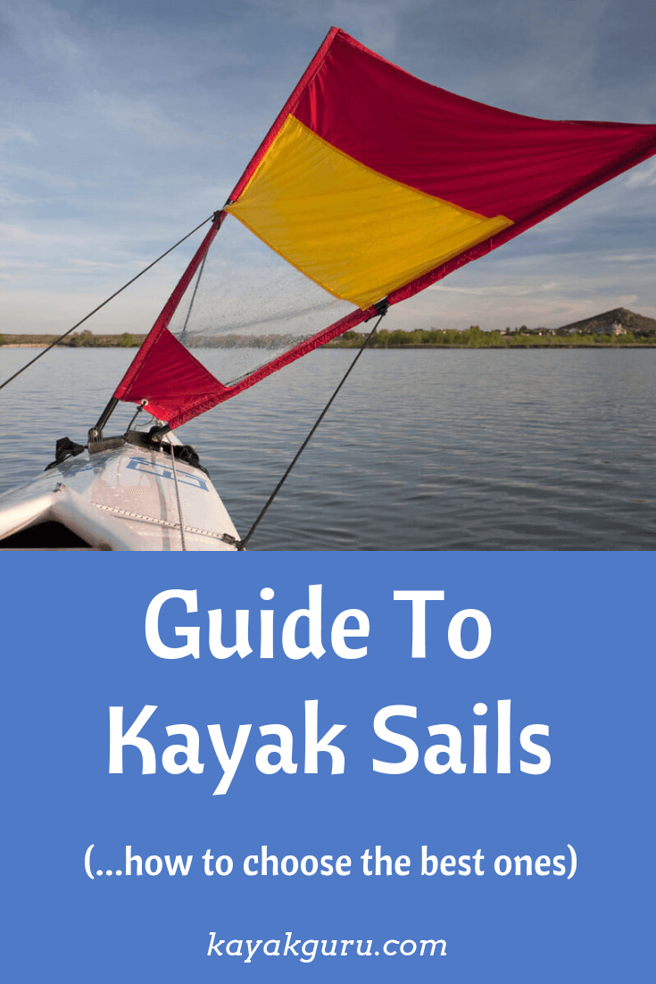 Guide To Kayak Sails - Pinterest Image