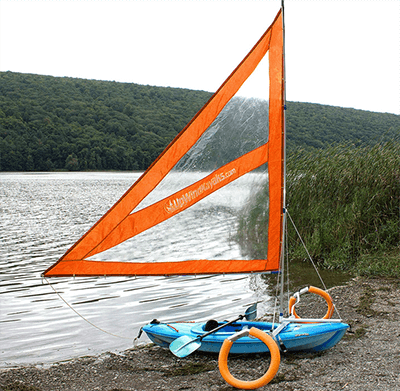 Harmony Upwind Kayak Sail and Canoe Sail Kit