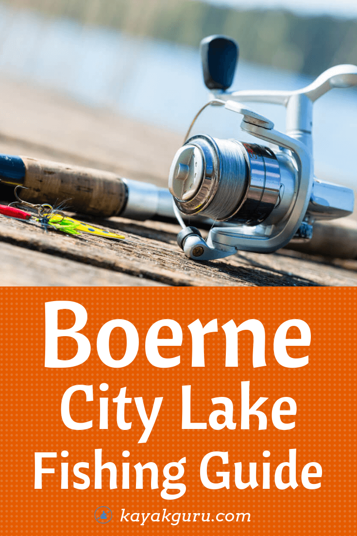 Boerne City Lake Fishing Guide - Pinterest Image