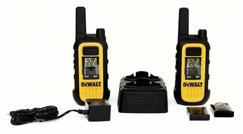 DeWalt DXFRS300 Heavy Duty Business Walkie Talkies - Best walkie-talkie #9