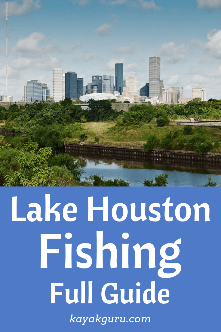 Lake Houston Fishing - Full Guide - Pinterest Image
