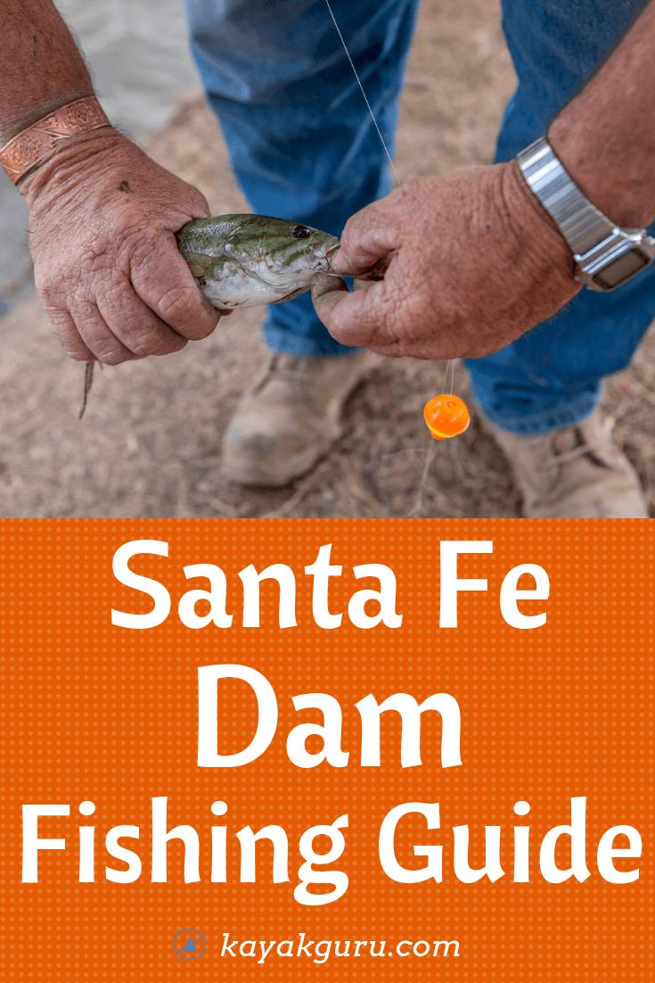 Santa Fe Dam Fishing Guide - Pinterest Image