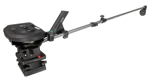 Scotty #1106 Depthpower Electric Downrigger With 60-Inch Telescopic Boom & Swivel Base/Rod Holder